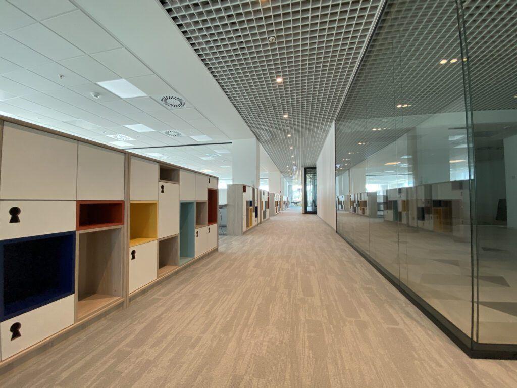 aranżacja powierzchni biurowych, projektowanie biura wnętrza biurowe